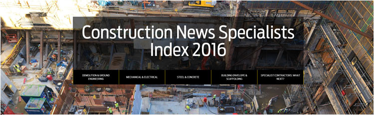 Construction News Specialist Index