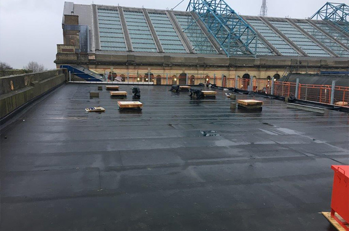 MAC Roofing Alexandra Palace
