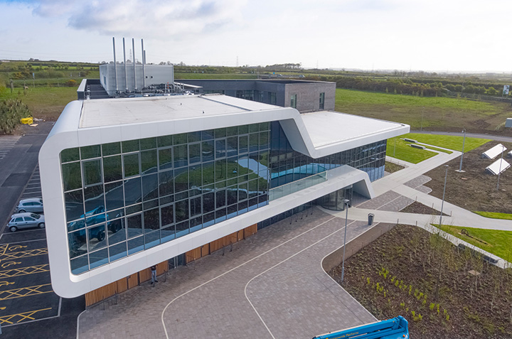 Menai Science Parc MAC Roofing project