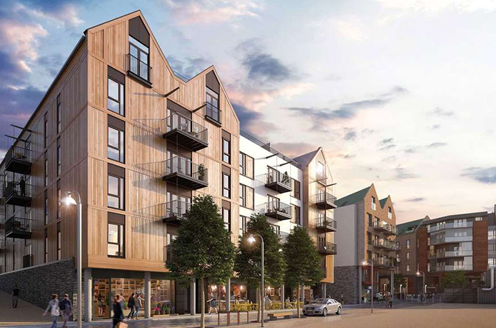 Wapping Wharf - MAC Roofing case study 2
