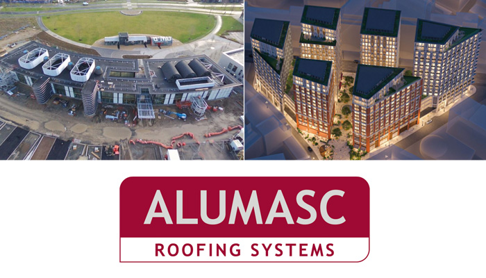 MAC Roofing working with Alumasc