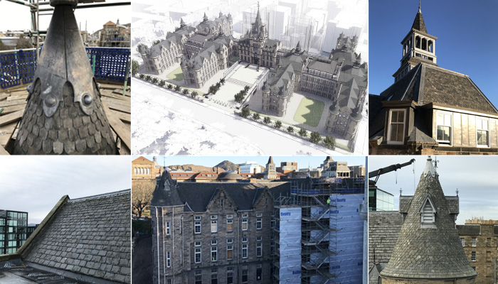 Edinburgh Futures Institute roofing