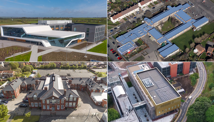 Education roofing projects