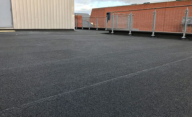 TCRC flat roof case study Hereford