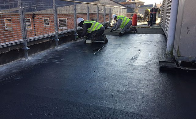 Hereford flat roofing contractor
