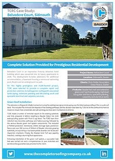 Belvedere Court, Sidmouth case study