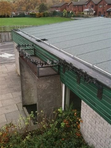 Fulwood Roofing school refurbishment project